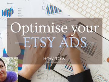 Etsy Service: ⭐️ Optimise your Etsy Ads - to make more sales