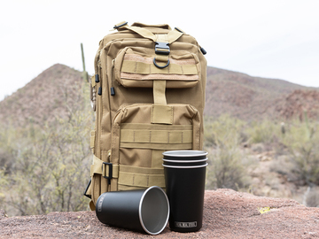 One product shot on location