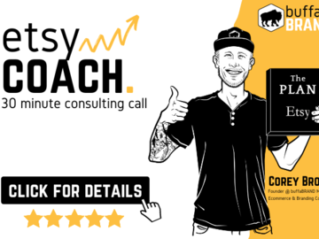 Etsy Service: 30 Minute Coaching & Consulting Call | Get Answers You Need!