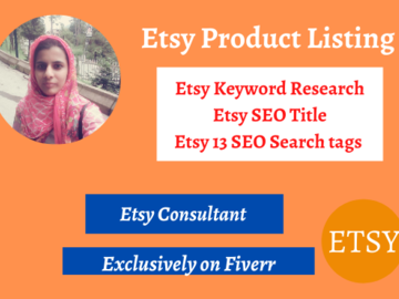 Etsy consultation for SEO tags, title and keywords